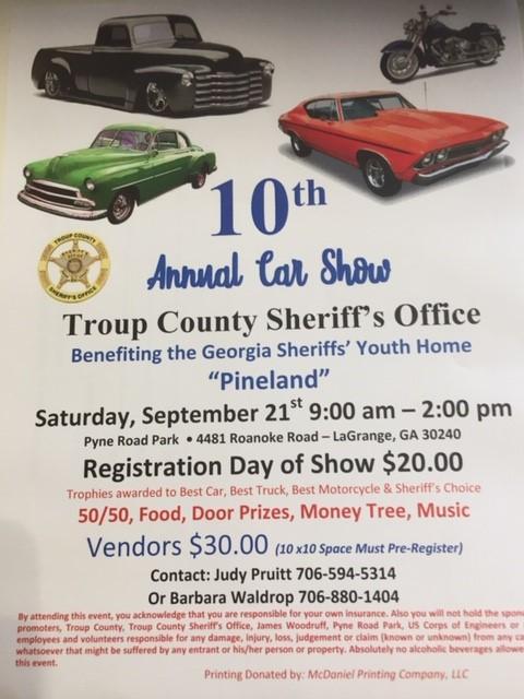 Troup County Sheriff's Office   troupcountysheriff org