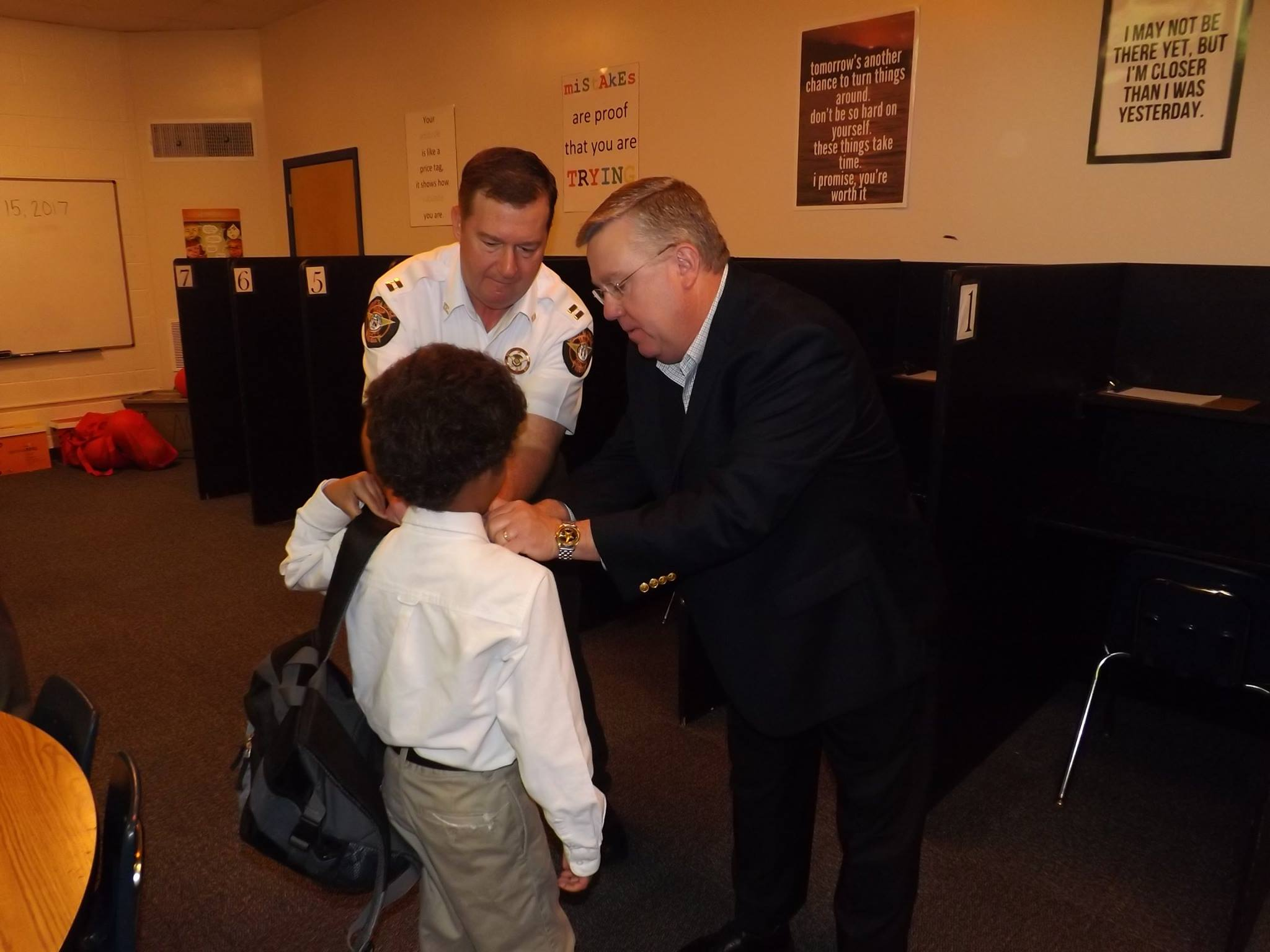 Sheriff participates in Empowerment Wednesday